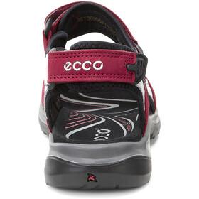ECCO Offroad Sandalias Mujer, rojo/negro